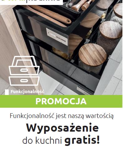 Kuchnie na wymiar, meble kuchenne Kraków - Wyposażenie do kuchni GRATIS 2019 - Promocja na meble kuchenne WFM - WFM KUCHNIE Kraków