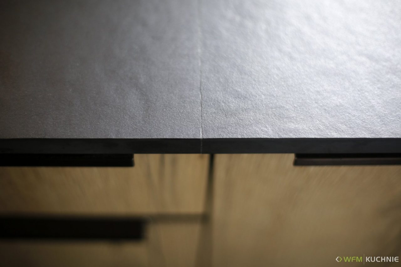 Nowoczesna kuchnia na wymiar WFM PUNTO Dąb Halifax P79F - Meble kuchenne wyróżniające się prostotą i funkcjonalnością - WFM KUCHNIE Kraków
