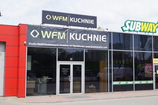Studio mebli kuchennych, kuchni na wymiar WFM KUCHNIE Kraków Opolska 60