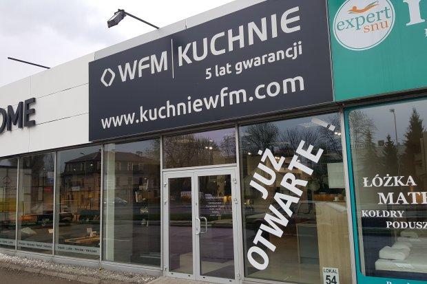 Studio mebli kuchennych, kuchni na wymiar WFM KUCHNIE Kraków Zakopiańska 56