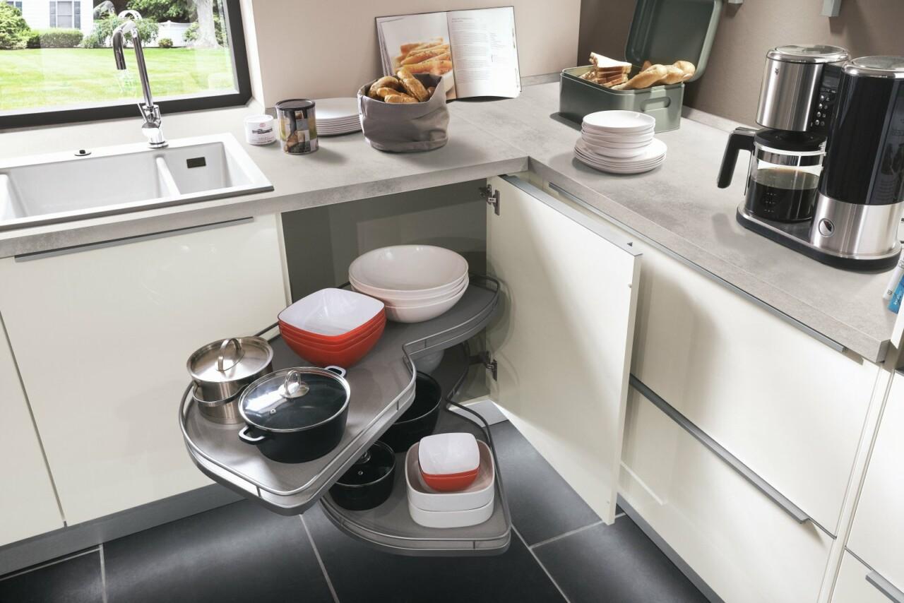 Meble kuchenne NOBILIA LUX 814 biały wysoki połysk, lakier - Kuchnie na wymiar - FM KUCHNIE Kraków