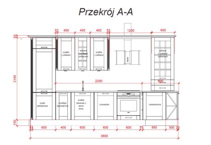 wymiary rocca salon wfm zakopianska 2 Wyprzedaż 9 Meble kuchenne, kuchnie na wymiar - FM KUCHNIE Kraków