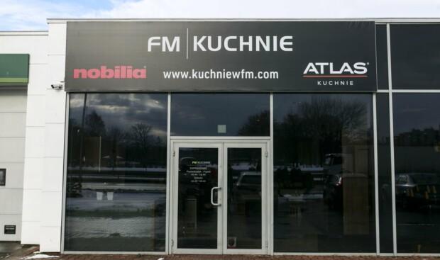 Studio mebli kuchennych, kuchni na wymiar FM KUCHNIE Kraków Opolska 60 (w budynku stacji benzynowej BP)
