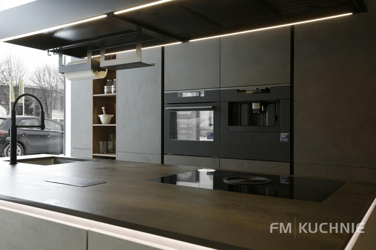 Kuchnie na wymiar Nobilia Riva 892 szary beton - Riva 839 szary terra beton - Meble kuchenne Kraków -02- FM KUCHNIE Kraków
