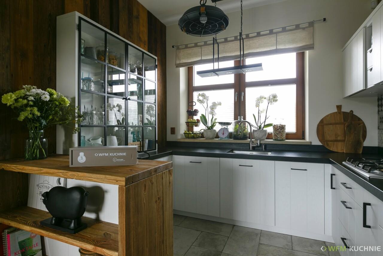 Kuchnia WFM BACINO dąb biały - Meble kuchenne Kraków, kuchnie na wymiar Kraków - WFM KUCHNIE Kraków