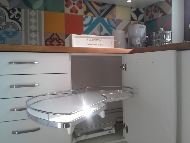 Kuchnia WFM Calma 101 biały mat - Kuchnie na wymiar Kraków, Meble kuchenne Kraków | WFM Kuchnie Kraków