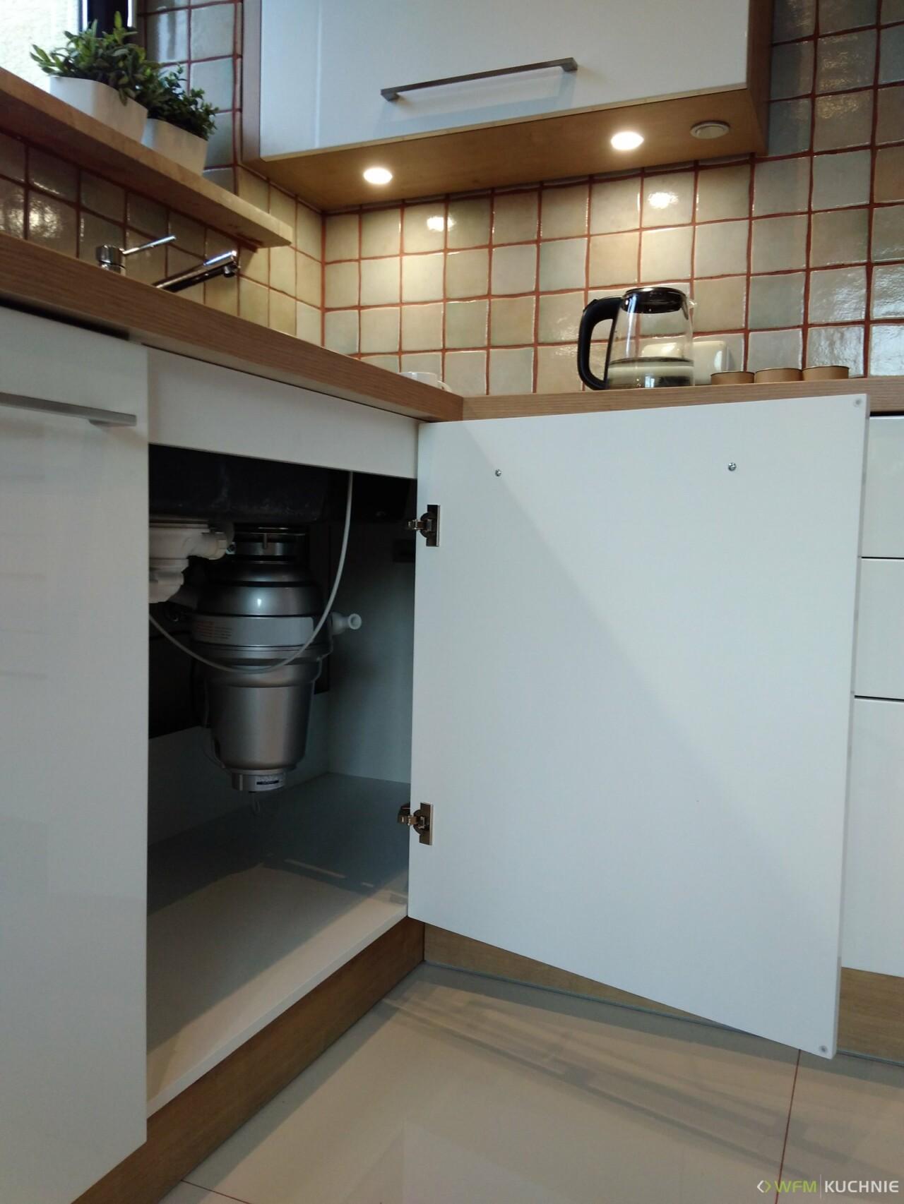 Kuchnia WFM CALMA biały połysk P101 - Meble kuchenne, kuchnie na wymiar Kraków - WFM KUCHNIE Kraków