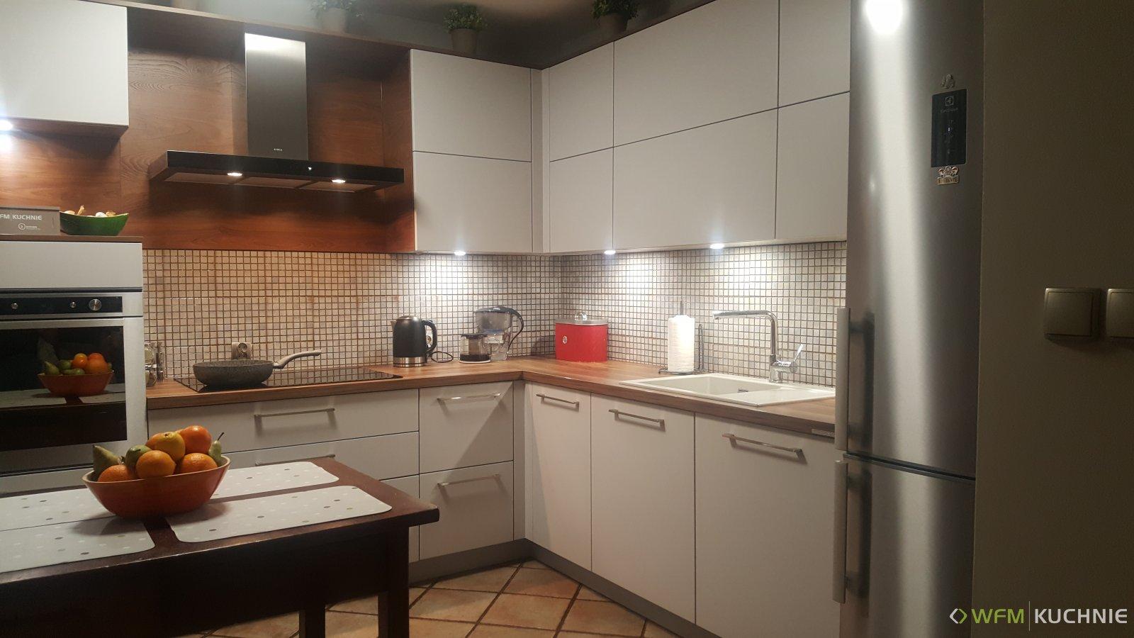 Kuchnia WFM CALMA mat M122 - Kuchnie na wymiar, meble kuchenne Kraków - WFM KUCHNIE Kraków