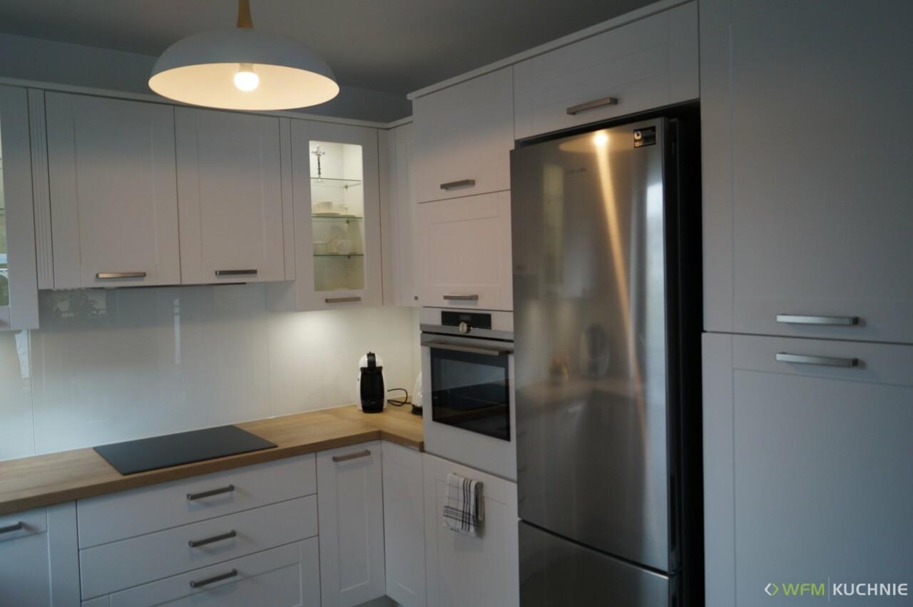 Kuchnia WFM FLORINA II biały supermat 82 - Meble kuchenne, kuchnie na wymiar Kraków - WFM KUCHNIE Kraków