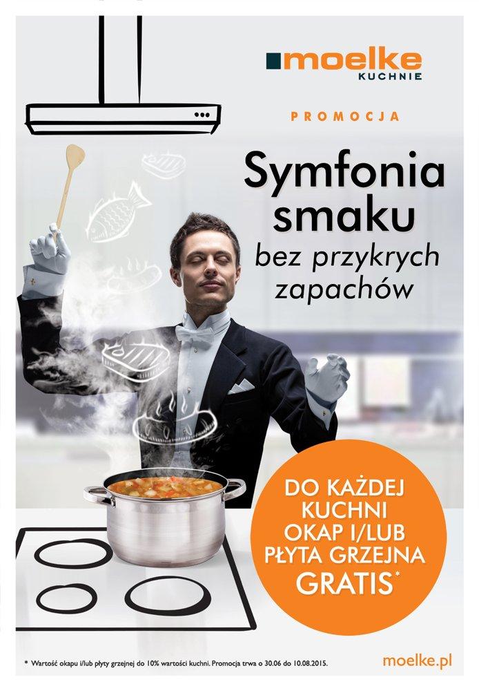 Do każdej kuchni okap i/lub płyta grzejna gratis - Promocja na meble kuchenne Moelke - Kuchnie na wymiar Kraków | WFM Kuchnie Kraków