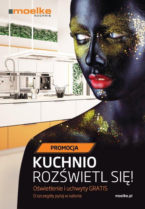 Kuchnio rozświetl się! - Promocja na meble kuchenne Moelke - Kuchnie na wymiar Kraków | WFM Kuchnie Kraków