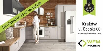 Dni otwarte w salonie WFM Kuchnie Kraków - Meble kuchenne, kuchnie na wymiar Kraków