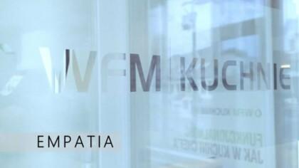 Kuchnie na wymiar - Empatia - meble kuchenne Kraków | WFM Kuchnie Kraków