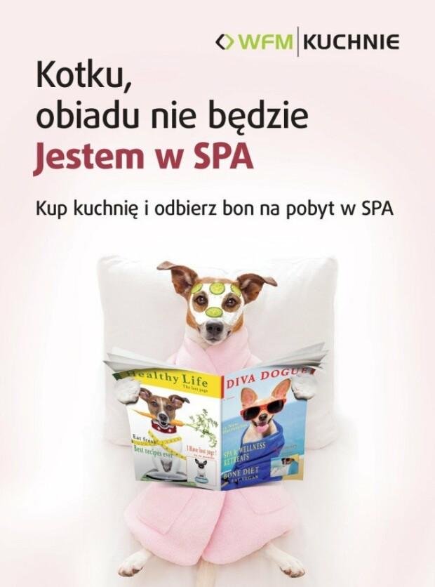 Kup kuchnię i odwiedź SPA - Promocja na meble kuchenne WFM - Kuchnie na wymiar Kraków | WFM Kuchnie Kraków