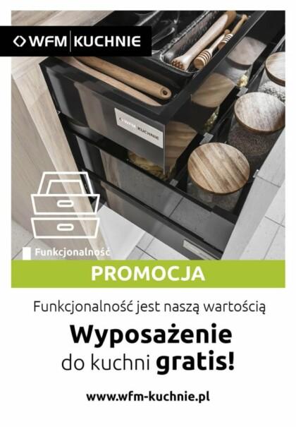 Wyposażenie do kuchni GRATIS - Promocja na meble kuchenne WFM - Kuchnie na wymiar Kraków | WFM KUCHNIE Kraków