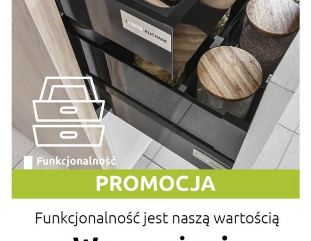 Kuchnie na wymiar Kraków - Wyposażenie do kuchni GRATIS - Promocja na meble kuchenne WFM - WFM KUCHNIE Kraków